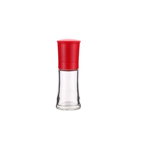 Tantitoni Kırmızı Cam Baharat Ve Tuz Değirmeni