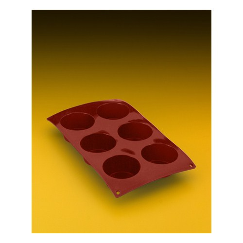 Metaltex Silikon 6 Lı Muffin Kalıbı