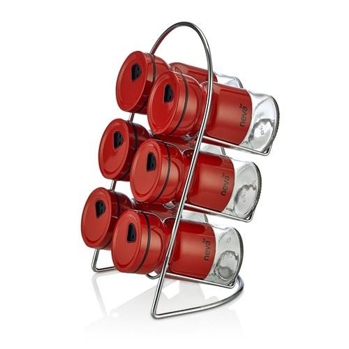 Neva N967 Sweet Kırmızı 6'Lı Baharat Seti