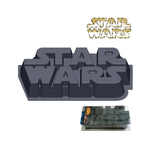 Star Wars Logo Baking Pan Pasta Kalıbı