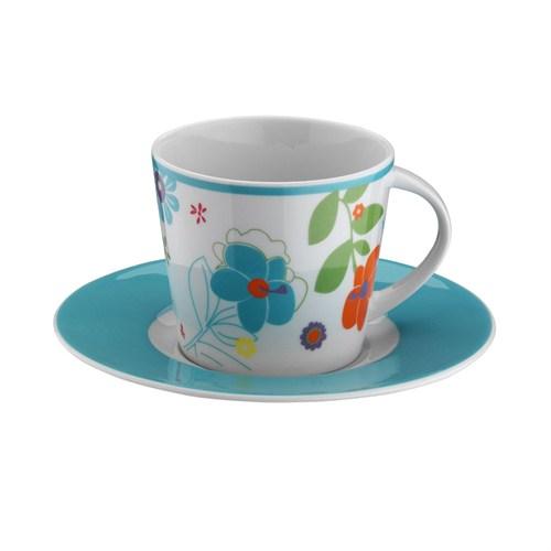 Kütahya Porselen Toledo 12 Parça 6028 Desen Çay Takımı