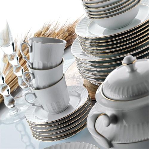 Kütahya Porselen Sedef 12 Parça Çay Takımı