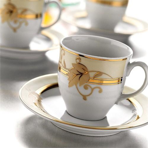 Kütahya Porselen Corner Collection 12 Parça 3210 Desen Çay Takımı