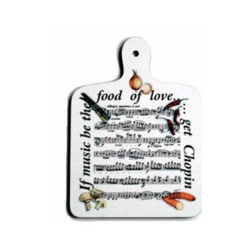 If Music Be The Food Of Love - Kesme Tahtası