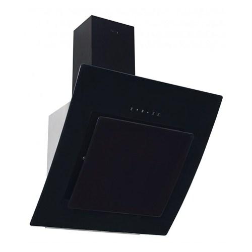 Ferre FMC 600 Uzaktan Kumandalı Yatay Dekoratif Siyah Cam Davlumbaz
