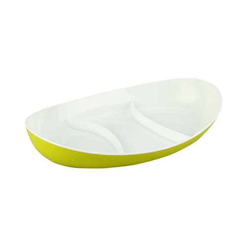 Evino Plastik 3 Bölmeli Çerezlik