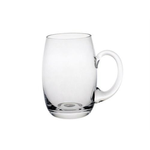 Paşabahçe Denizli Cam El İmalatı Kulplu Bira Bardağı