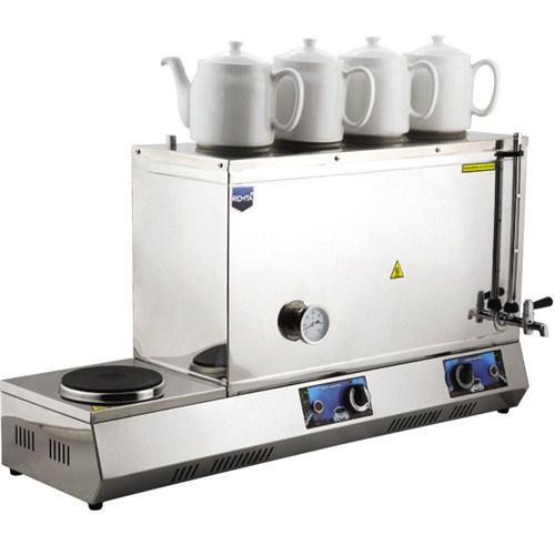 Remta 85 Model 58 Lt Elektrikli 4 Demlikli Çay Kazanı