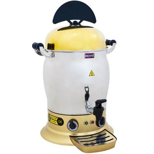 Remta 15 Lt Çelik Gold Salep Sıcak Çikolata Makinası Elektrikli