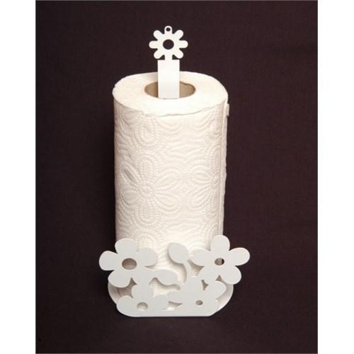 Atadan Çiçek Ferforje Havluluk-Beyaz