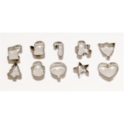 Atadan 10 Lu Metal Bisküvi Kalıbı-G90618