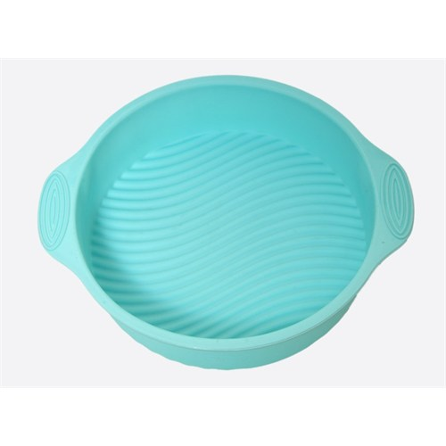 Atadan Yuvarlak Büyük Silikon Kek Kalıbı-Mavi