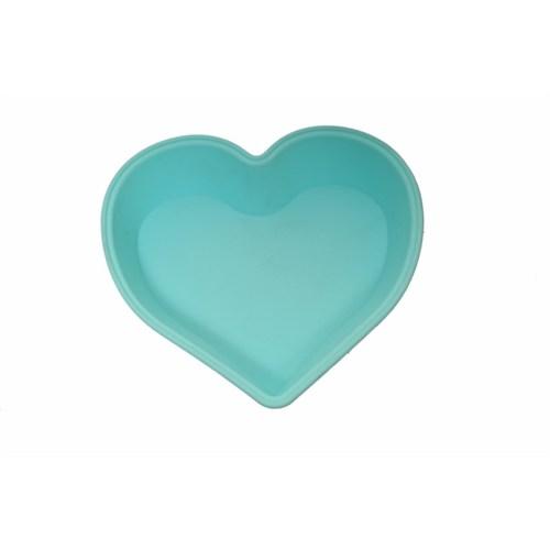 Atadan Kalpli Büyük Silikon Kek Kalıbı-Mavi