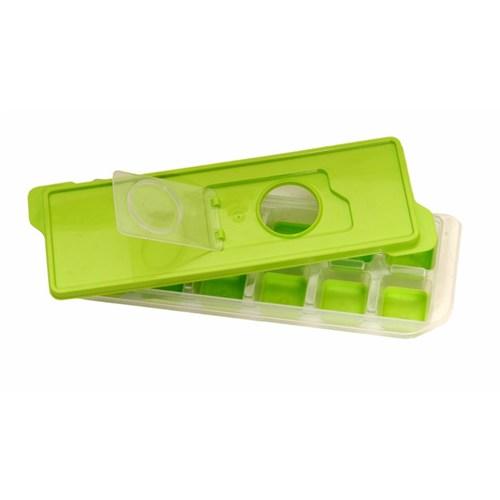 Atadan 12 Li Bas-Parmak Silikon Buz Kalıbı Saklama Kablı-Yeşil