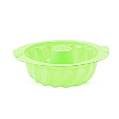 Hiper Büyük Yuvarlak Silikon Kek Kalıbı (Yeşil)