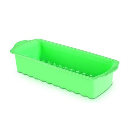 Hiper Baton Silikon Kek Kalıbı (Yeşil)