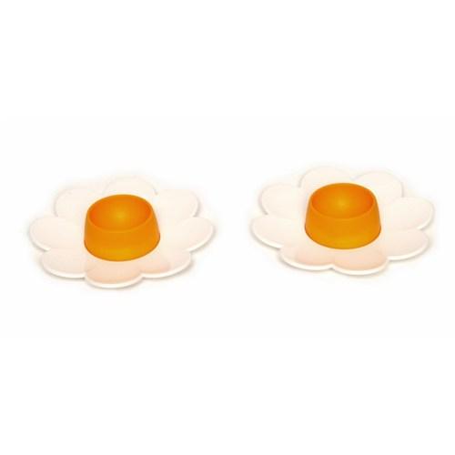 Atadan 2 Li Papatya Yumurtalık Sarı-Beyaz-G156