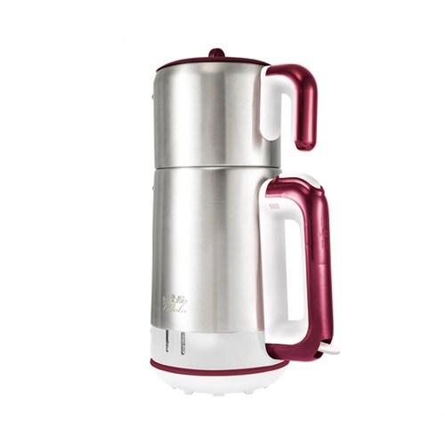 Blue House BH289TM Mola Elektrikli Çay Makinesi Beyaz-Bordo