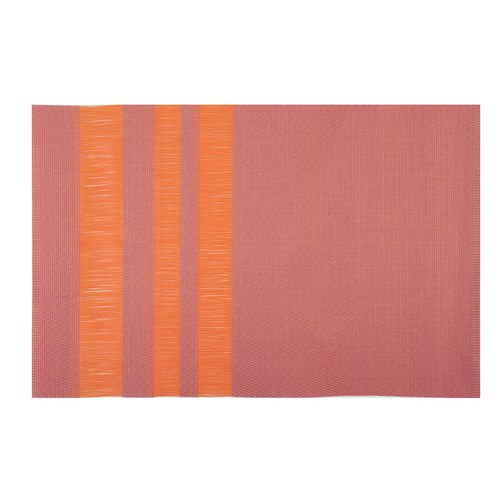 Tantitoni Tekstilen Çizgili Pembe Amerikan Servis