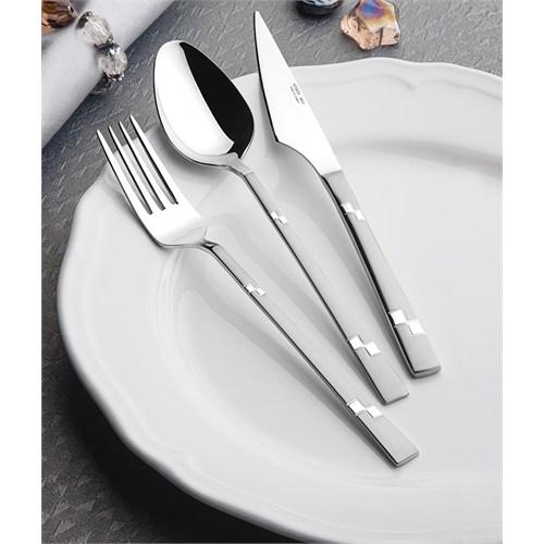 Yetkin Diva 12 Adet Tatlı Bıçağı - Saten