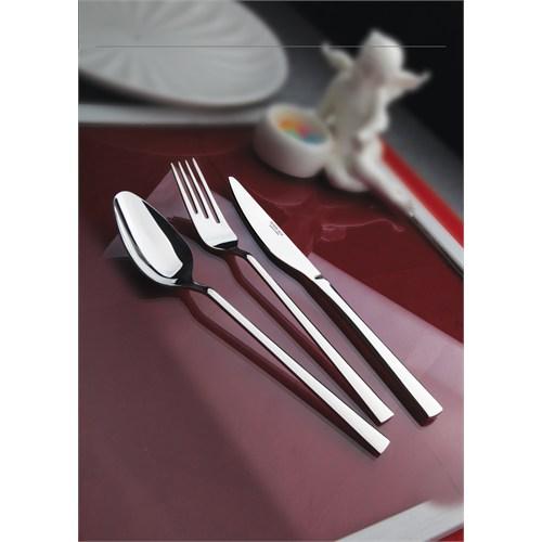 Yetkin Lara 12 Adet Tatlı Bıçağı - Sade