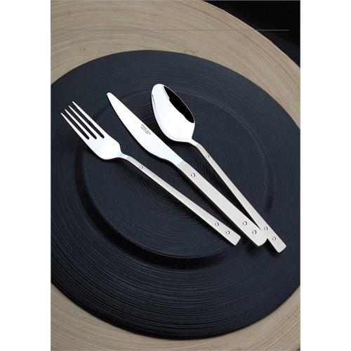 Yetkin Pırlanta 12 Adet Yemek Kaşığı - Saten