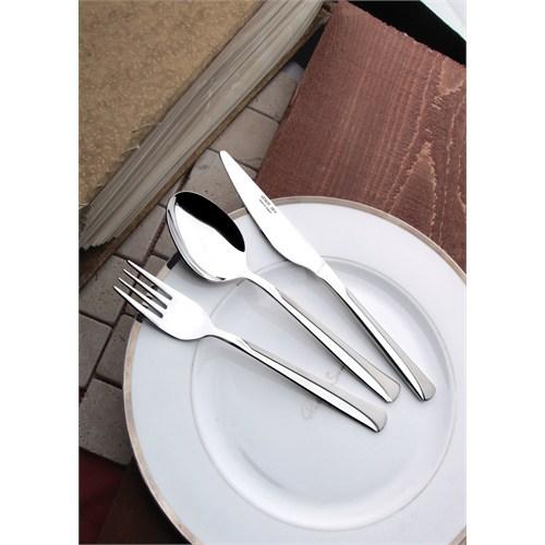 Yetkin Elit 18 Parça Çatal Kaşık Bıçak Takımı - Saten