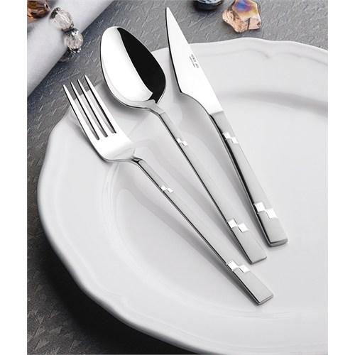 Yetkin Diva 12 Adet Yemek Bıçağı - Saten