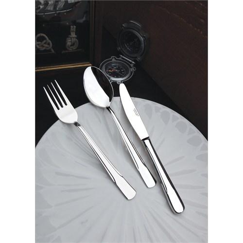 Yetkin Akdeniz 12 Adet Yemek Bıçağı - Sade