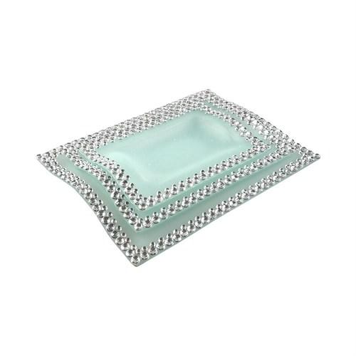 Evino 3'Lü Dekoratif Servis - Gümüş Serisi V4