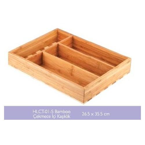 Fame Kitchen Bambu Çekmece İçi Kaşıklık (26,5cmx35,5cm) ÜN-162