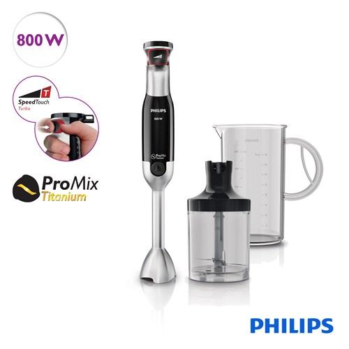 Philips Avance Collection Beluga HR1671/90 800 W El Blenderi Doğrayıcı ve Ölçekli Sürahi ile