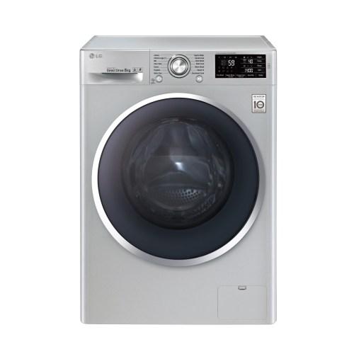 LG F14U2TDHP5N A+++ Yıkama Enerji Sınıfı 8 Kg Yıkama 5 Kg Kurutma Kapasiteli 1400 Devir Kurutmalı Çamaşır Makinesi