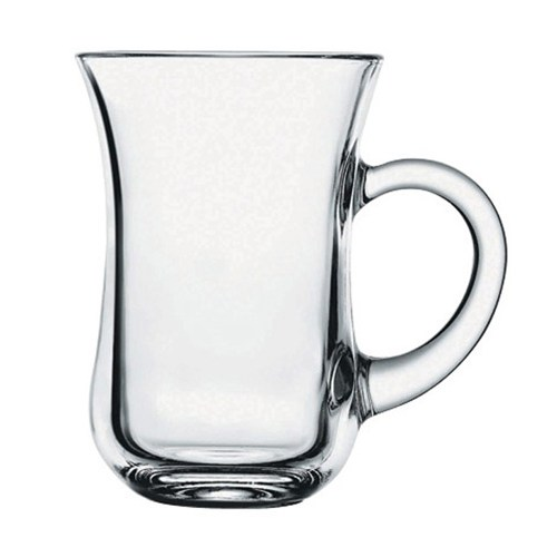 Paşabahçe Keyif Kulplu Çay Bardağı 6'lı Set