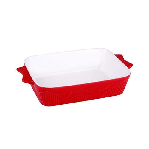 İhouse14508 Fırın Kabı Kırmızı
