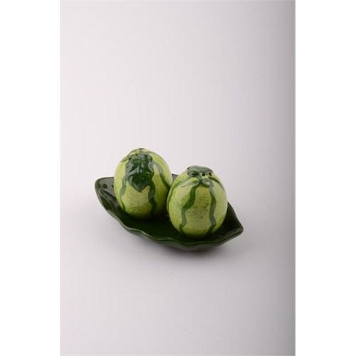 İhouse52017krp Tuzluk Seti Yeşil