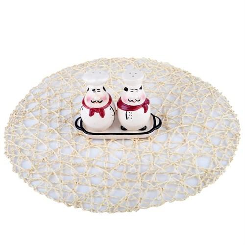 İhouse52018 Tuzluk Seti Beyaz