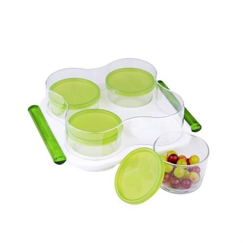 İhousefon0004 Kahvaltı Seti Yeşil