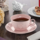 NEVA N1025 Dantel S Rosemary 12 Parça Pembe Kahve Fincanı