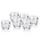 Noble Life Vogue Socıety Platin Model 6 lı Su Bardağı