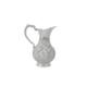 Antik Silver Gümüş Pırlanta Kesimli Sürahi + El Aynası Hediyeli