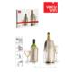 Vacu Vin Vacu Şarap Ve Şampanya Soğutucu Platin Renkli Set 2 Li
