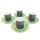 LunArt V.Gogh Kahve Fincan Set 4 lü