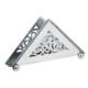 Antik Silver Gümüş Peçetelik + El Aynası Hediyeli