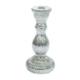 EveryThing Eskitme Gümüş Şamdan Cam