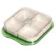 Atadan 4 lü Display Kare Kahvaltı Seti-Yeşil-CK281