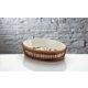 İhouse Rx13 Porselen Hasırlı Fırın Kabı Beyaz