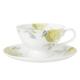 Laura Ashley Hydrangea Cup & Saucer Fincan