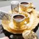 Sena Oval Tiryaki Kahve Takımı İki Kişilik