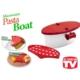 Toptancı Kapında Pasta Boat Mikrodalgada Hızlı Makarna Pişirici